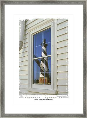 Hatteras Lighthouse  S P Framed Print by Mike McGlothlen