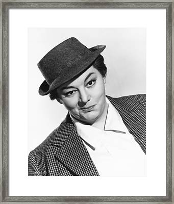 Hattie Jacques Framed Print by Silver Screen