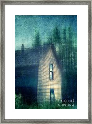 Haunted By The Past Framed Print by Priska Wettstein