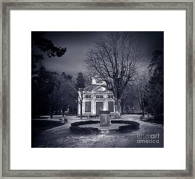 Haunted House Framed Print by Michal Bednarek