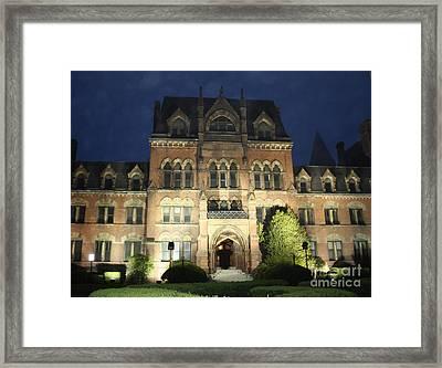 Haunted Mansion Framed Print by John Telfer