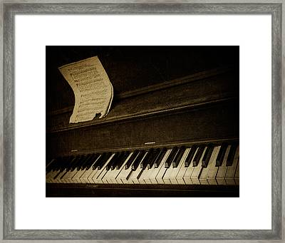Haunted Melody Framed Print by Amy Weiss