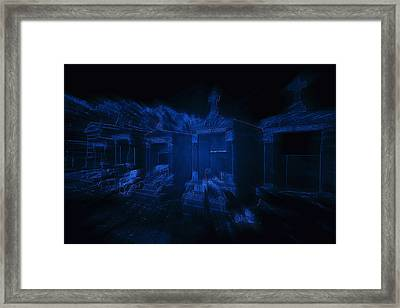 Haunted St Louis Cemetery No 3 New Orleans Framed Print by Christine Till