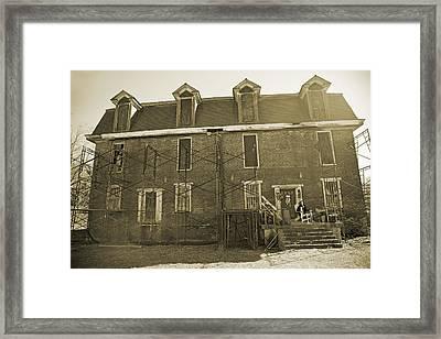 Haunting  Framed Print by Betsy Knapp