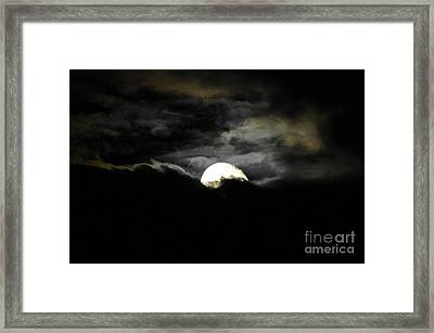 Haunting Horizon Framed Print by Al Powell Photography USA