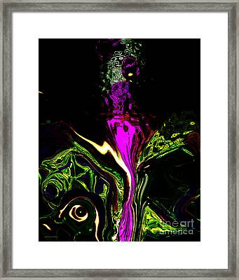 Haute Couture Framed Print by Gerlinde Keating - Galleria GK Keating Associates Inc
