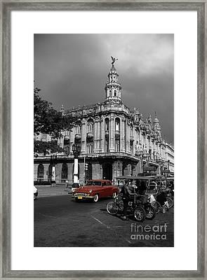Havana Red Framed Print by James Brunker
