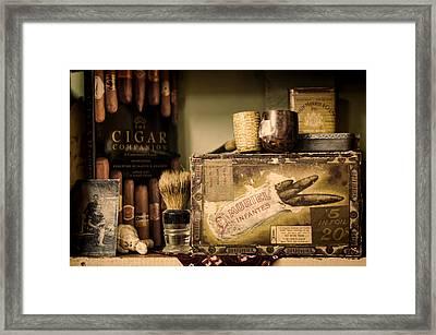 Have A Cigar Framed Print by Heather Applegate