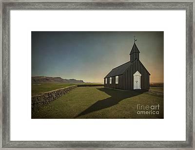 Have A Little Faith Framed Print by Evelina Kremsdorf