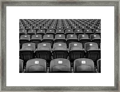 Have A Seat Framed Print by Frozen in Time Fine Art Photography