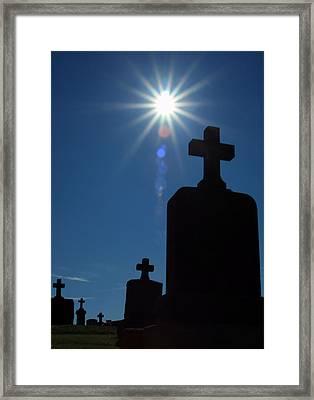 Have Faith... Framed Print by Karol Livote