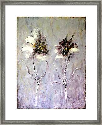 Have You Heard.....? Framed Print by Madeleine Holzberg