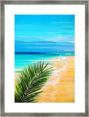 Haven Of Bliss Framed Print by Lourry Legarde