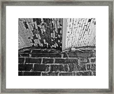 Haverford Ceiling Framed Print by Chuck Bryant