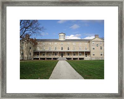 Haverford College Framed Print by Georgia Fowler
