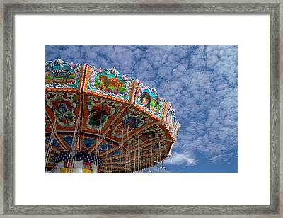Having Fun Framed Print by Kim Hojnacki