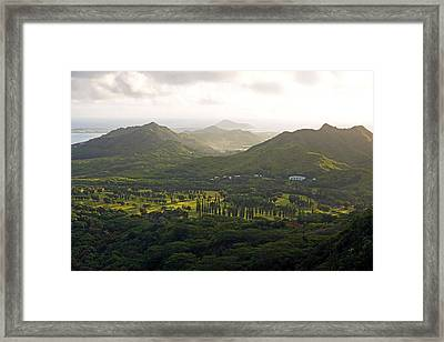 Hawaii Pacific University Framed Print by Kevin Smith