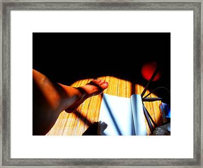 Hawaiin Homestead Framed Print by Sherry Dooley