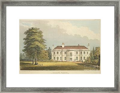 Hawley House Framed Print by British Library