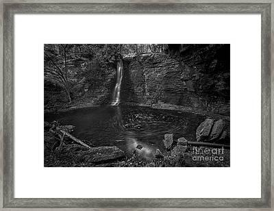 Hayden Swirls  Framed Print by James Dean