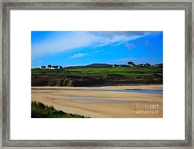 Hayle Estuary Cornwall Framed Print by Louise Heusinkveld