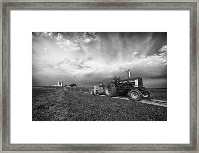 Hayride In Ohio Framed Print by Mountain Dreams