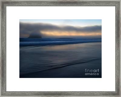 Haystack Hidden Framed Print by Mike  Dawson