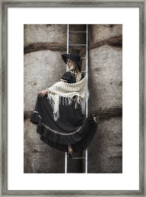 Haystack Framed Print by Joana Kruse