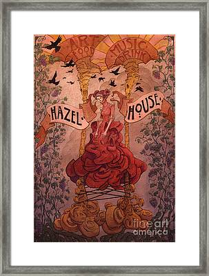 Hazel House Framed Print by Ethan Harris