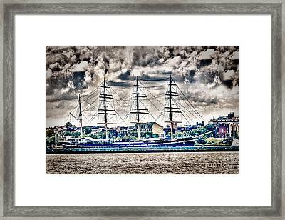 Hdr Tall Ship Boat Pirate Sail Sailing Photography Gallery Art Image Photo Buy Sell Sale Picture  Framed Print by Pictures HDR