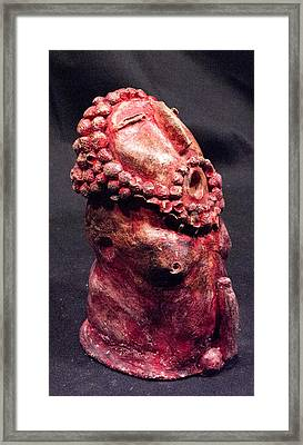 He Garnet Framed Print by Mark M  Mellon