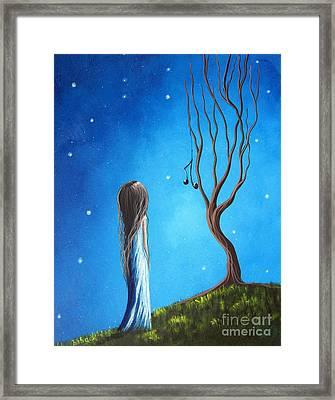 He Still Loves Her By Shawna Erback Framed Print by Shawna Erback