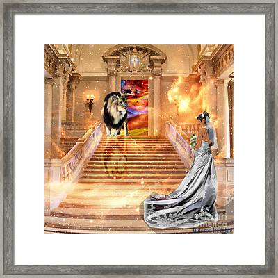 The Bride Of Christ Framed Print by Dolores Develde