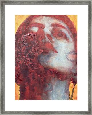 Head Framed Print by Graham Dean