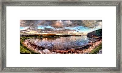 Head Harbor Isle Au Haut Maine Framed Print by Mary Fennell