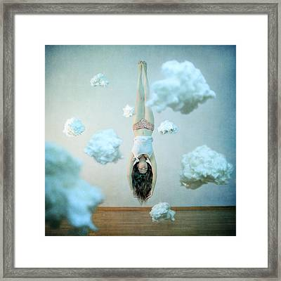 Head In The Clouds Framed Print by Anka Zhuravleva