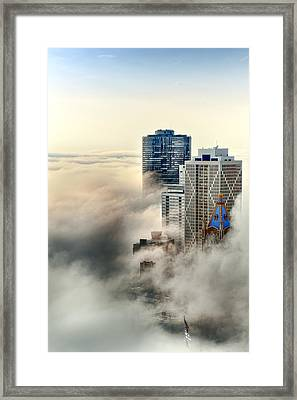 Head In The Clouds Framed Print by John Harrison