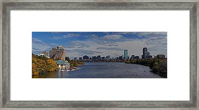 Head Of The Charles Regatta Framed Print by Juergen Roth