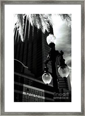 Head Toward The Light Framed Print by Robert McCubbin