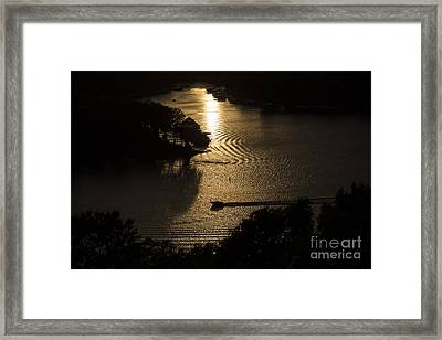 Headed Home Framed Print by Dennis Hedberg