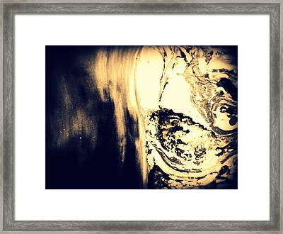 Heading From The Cave Framed Print by Mlle Marquee