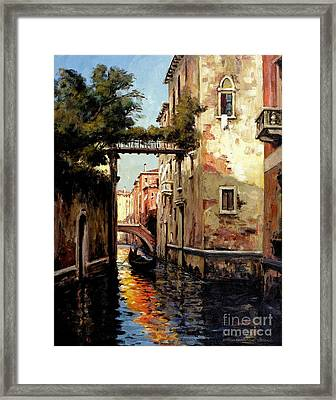 Heading Home Framed Print by Michael Swanson