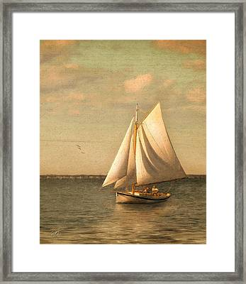 Heading In Framed Print by Michael Petrizzo