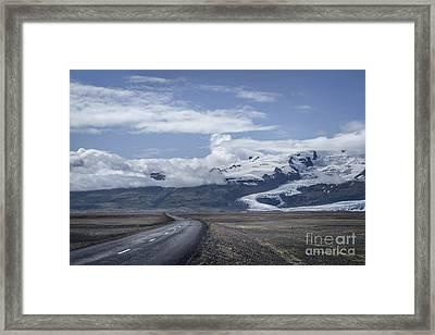 Heading North Framed Print by Evelina Kremsdorf