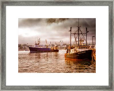 Heading Out Framed Print by Bob Orsillo