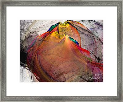 Headless-abstract Art Framed Print by Karin Kuhlmann