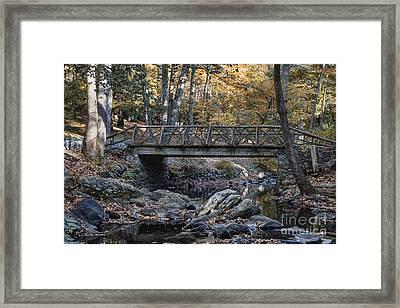 Headless Horseman Bridge Framed Print by John Greim