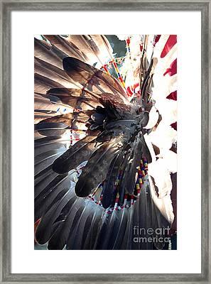 Headress Framed Print by Kathleen Struckle