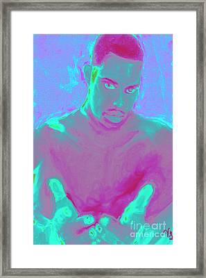 Heal My Blues Framed Print by Vannetta Ferguson