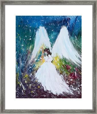 Healing Angel 2 Framed Print by Kume Bryant
